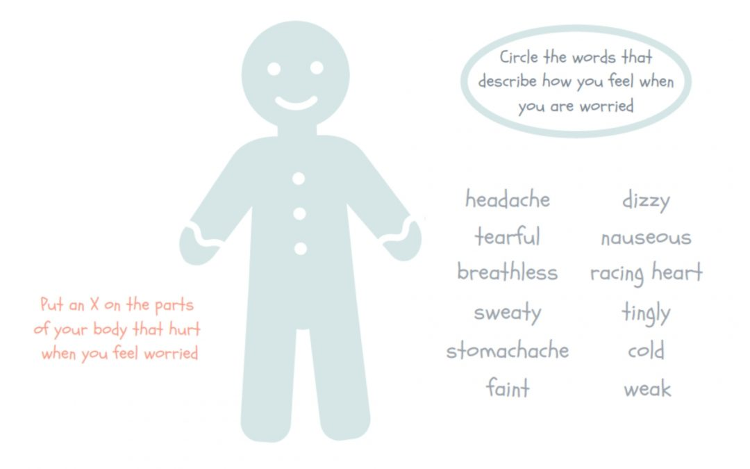Gingerbread Man – Where I feel my emotions / anxiety