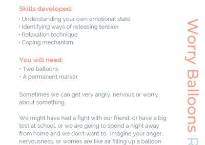 Worry Balloon