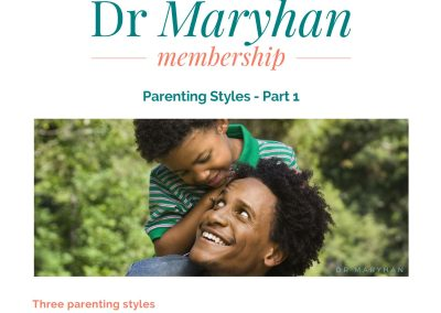 Parenting Styles Part 1